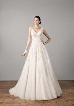Safran robe mariée
