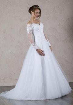 Automne robe mariée