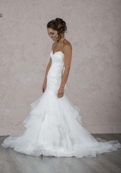 Selfie robe de mariée