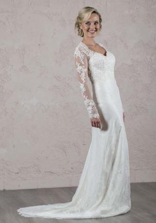 Sérieuse robe de mariée