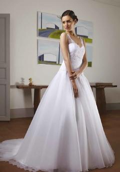 Lumineuse robe mariée
