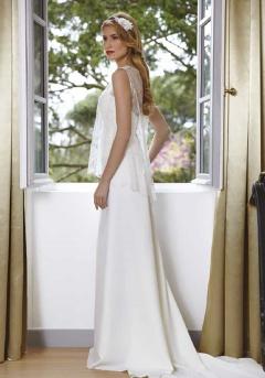 Lagune robe mariée